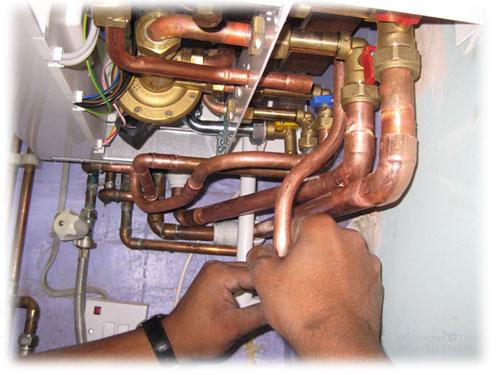 Topenářské práce - instalaceplynového  kotle