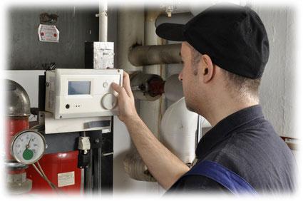 Automatická regulace vytápění budov