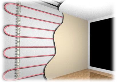 Stěnové topení - vytápění a teplo ze všech stran