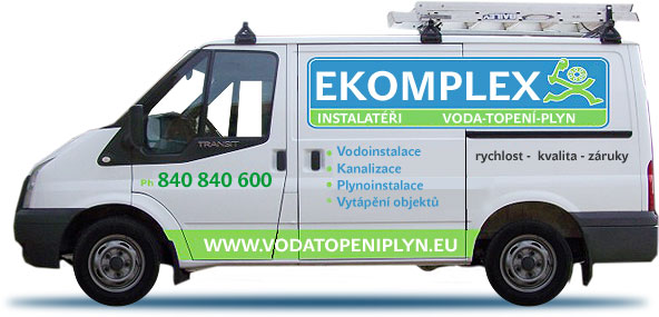 instalatéři Kopřivnice - voda - rozvody tepla